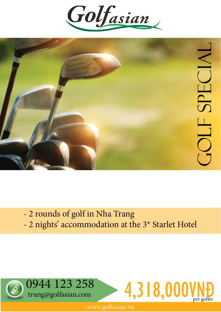 Nha Trang Golf @Starlet Hotel May - 30 Sep 2015